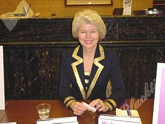 Marilyn, in her office